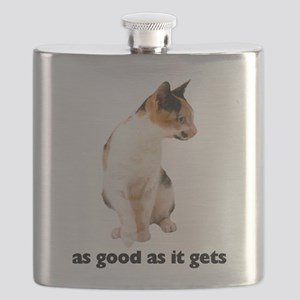 FIN-calico-cat-good Flask