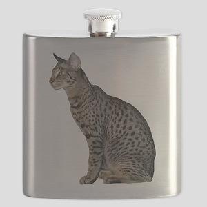 FIN-savannah-cat-CROP Flask