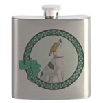 FIN-american-foxhound-irish Flask