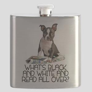 FIN-boston-terrier-riddle Flask