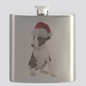 FIN-bull-terrier-santa-CROP Flask