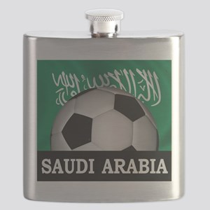 Football Saudi Arabia Flask