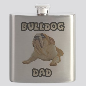 FIN-bulldog-lying-dad Flask