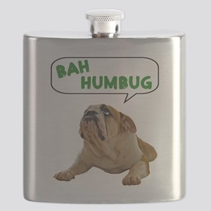 FIN-bulldog-lying-bah-humbug- Flask
