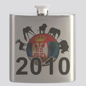 Serbia World Cup 2010 Flask