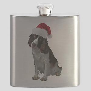 FIN-santa-liverspringerspaniel Flask