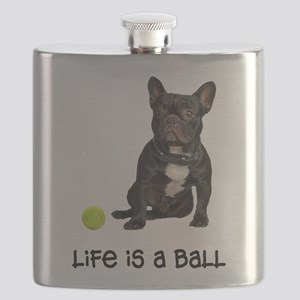 French Bulldog Life Flask
