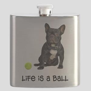 French Bulldog Life Flask