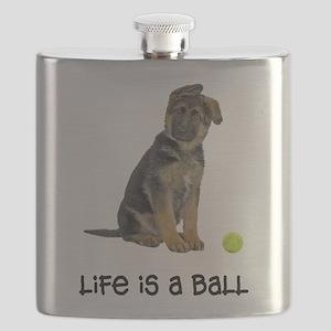 FIN-german-shepherd-puppy-life Flask