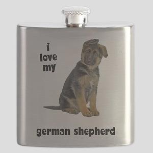 FIN-german-shepherd-puppy-love Flask