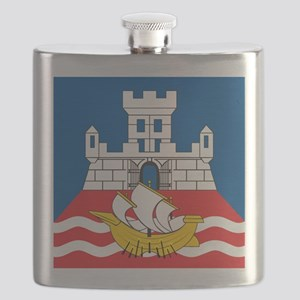 Beograd Flag Flask