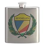 Stylized Seychelles Flask