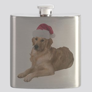FIN-santa-golden-retriever Flask