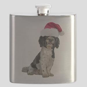 FIN-santa-havanese Flask