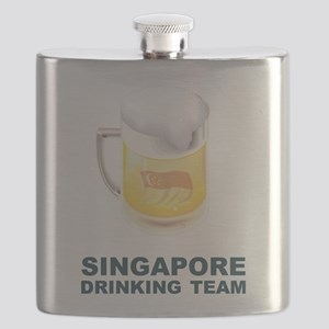 Singapore Drinking Team Flask