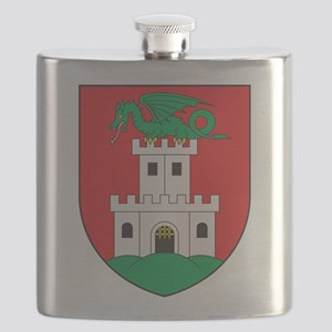 Ljubljana Coat Of Arms Flask