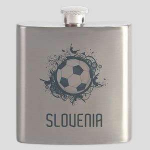 Slovenia Football Flask