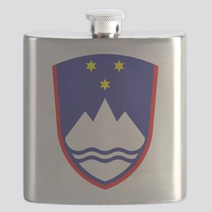 Slovenia Coat Of Arms Flask