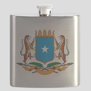 Somalia Coat Of Arms Flask