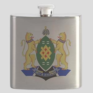 Johannesburg Coat Of arms Flask
