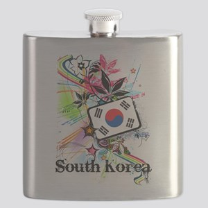 Flower South Korea Flask