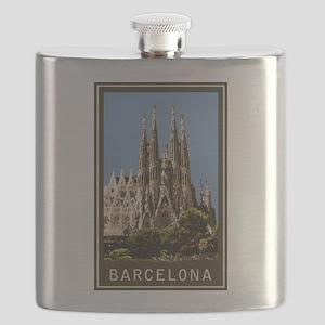 Barcelona Sagrada Familia Flask