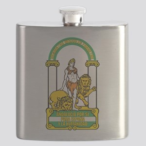 Andalucia Coat Of Arms Flask