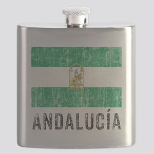 Vintage Andalusia Flask
