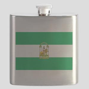 Andalucia Flag Flask