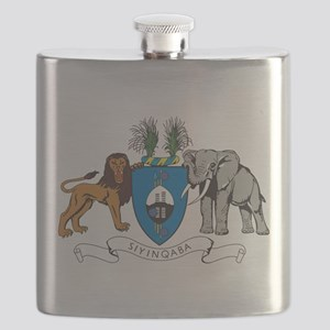 Swaziland Coat Of Arms Flask