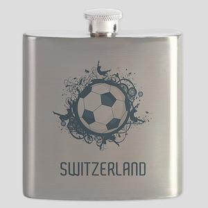 Switzerland Football Flask