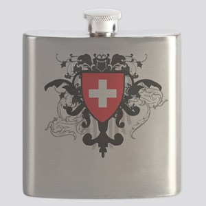 Stylish Switzerland Flask