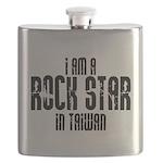 Rock Star In Taiwan Flask