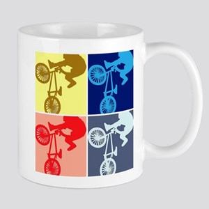 BMX Bike Rider/Pop Art Mug
