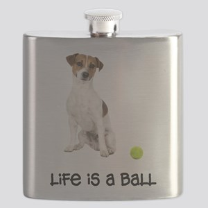 Jack Russell Terrier Life Flask
