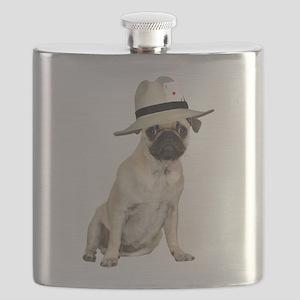 FIN-poker-pug-fawn Flask