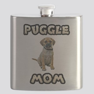 Puggle Mom Flask