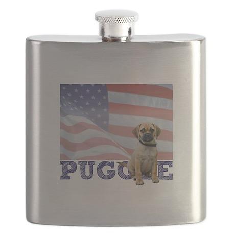 FIN-puggle-patriotic2 Flask