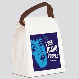 JCAHO People 02 Canvas Lunch Bag