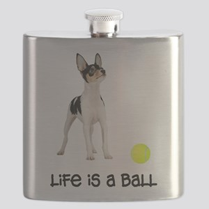 FIN-toy-fox-terrier-life Flask