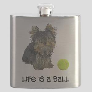 Yorkie Life Flask