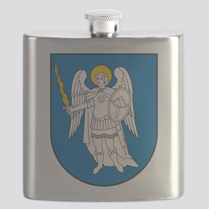 Kiev Coat Of Arms Flask