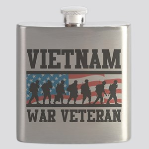 Vietnam War Veteran Flask