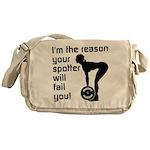Problem solved Messenger Bag