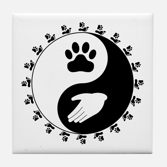 Universal Animal Rights Tile Coaster
