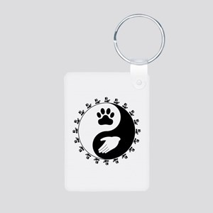 Universal Animal Rights Aluminum Photo Keychain