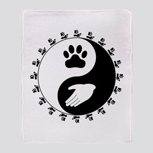 Universal Animal Rights Throw Blanket