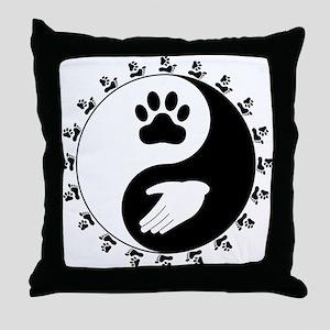 Universal Animal Rights Throw Pillow