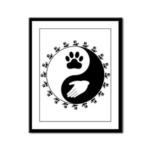 Universal Animal Rights Framed Panel Print