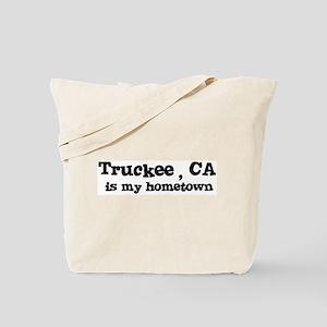 Truckee - hometown Tote Bag